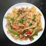 How to make Pad Kee Mao a.k.a drunken noodles