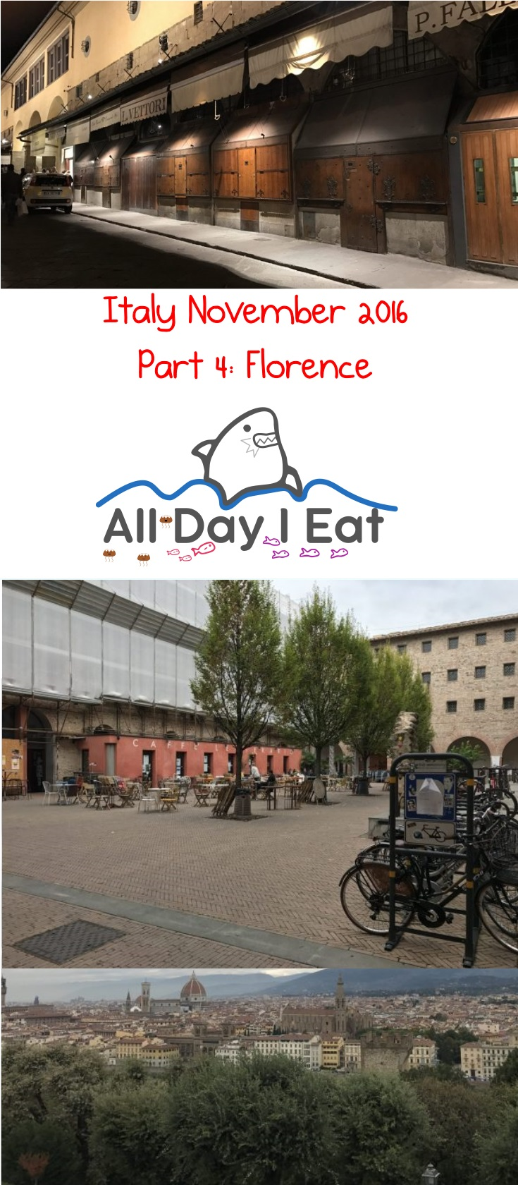 Italy November 2016 Part 4: Florence | www.alldayieat.com