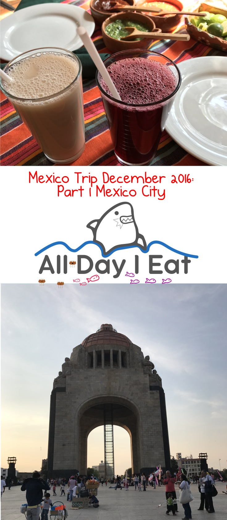 Mexico Trip December 2016: Part 1 Mexico City | www.alldayieat.com