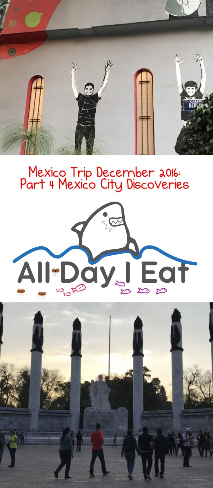 Mexico Trip December 2016: Part 4 Mexico City Discoveries in Juarez, Chapultepec and Polanco Neighborhoods