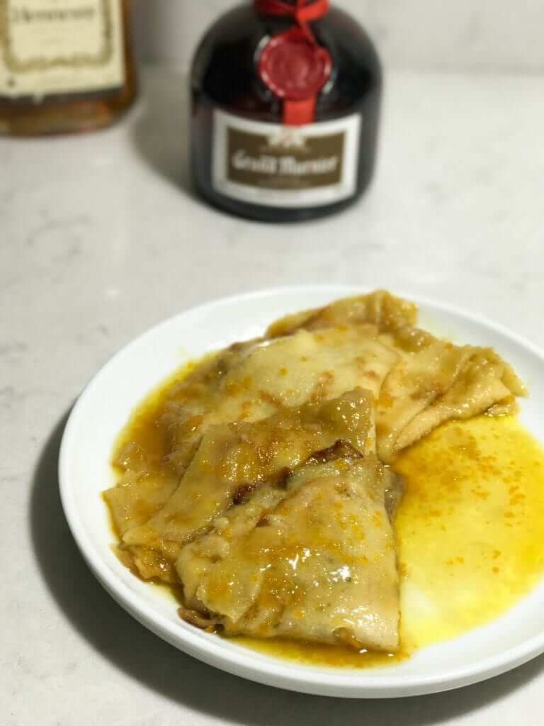 Classic Crepes Suzette with Rum (2)