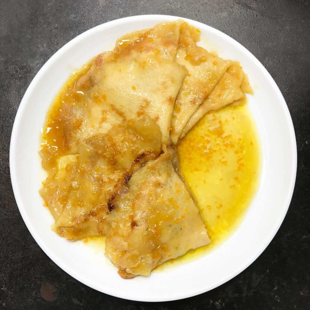 Classic Crepes Suzette with Rum (3)