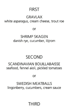 aquavit new york city menu