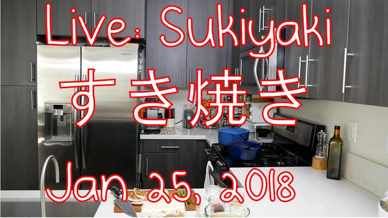 all day i eat sukiyaki live stream